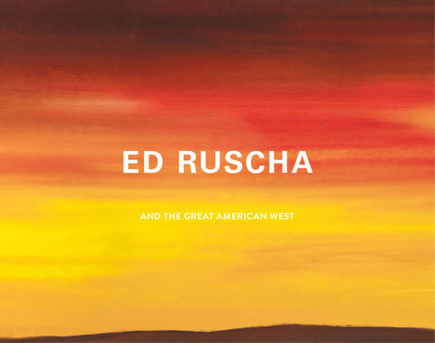 Cover image of Ed Ruscha and the Armerican West