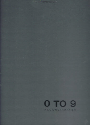 Exterior of 0 TO 9: THE COMPLETE MAGAZINE
