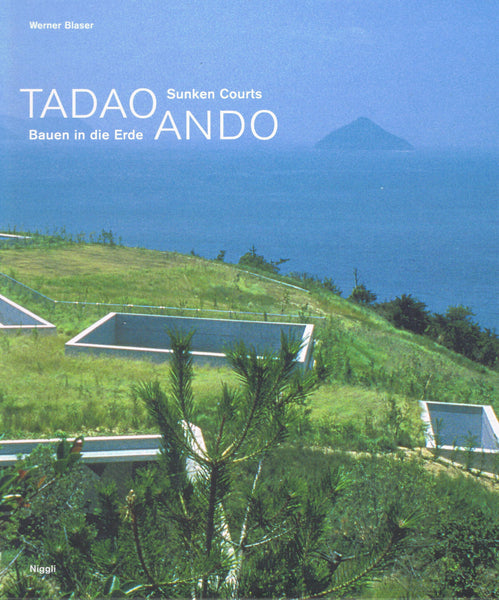 Cover of Sunken Courts by Tadao Ando