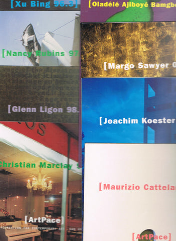 Cover photo of a sampling of brochure covers.