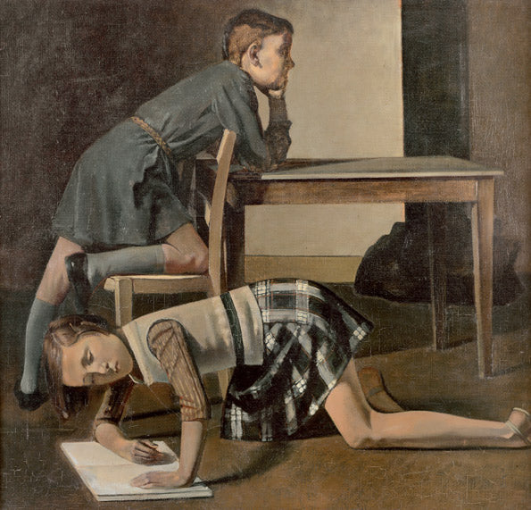 Detail image-Balthus Cats and Girls