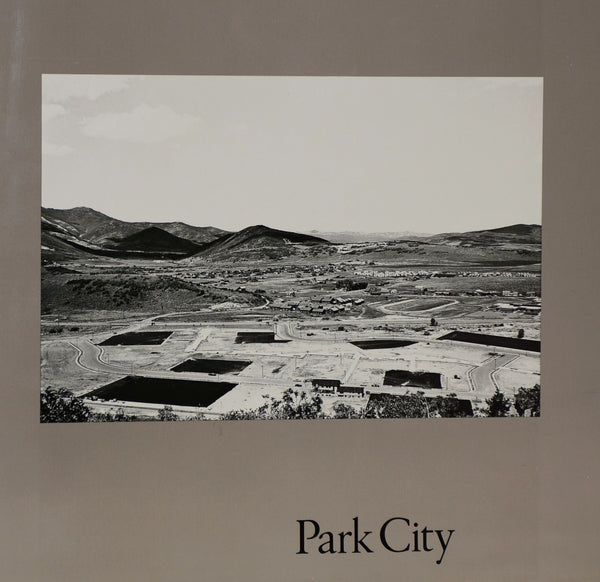 Cover image of Park City by Lewis Baltz