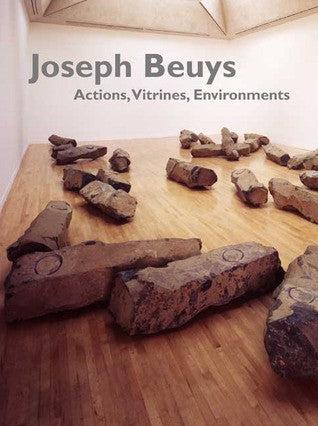 Cover photo of Joseph Beuys Actions, Vitrines, Environments