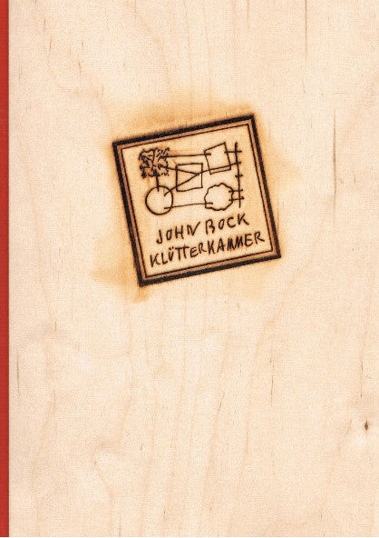 Cover of Klutterkamer by John Bock