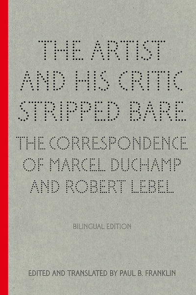 Cover image of The Artist and His Critic Stripped Bare