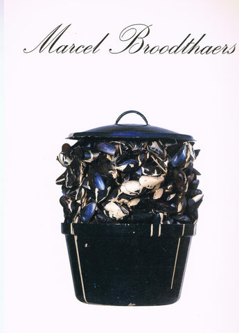Cover image of Marcel Broodthaers [Walker]