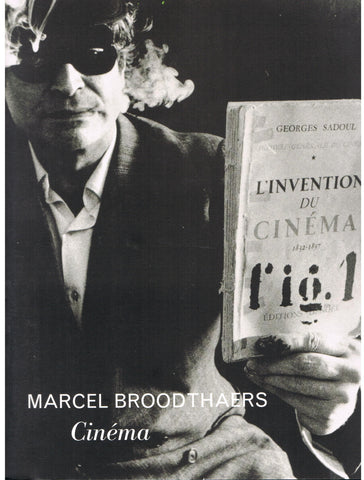 "Cover photo of Marcel Broodthaers ""Cinema"""