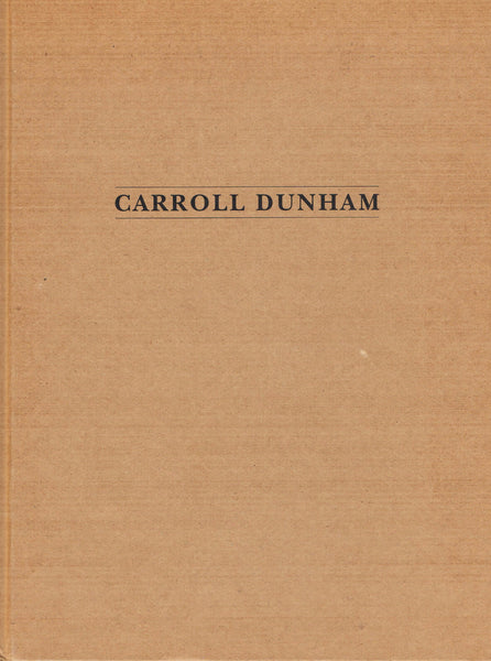 Cover image of Carroll Dunham Paintings and Drawings
