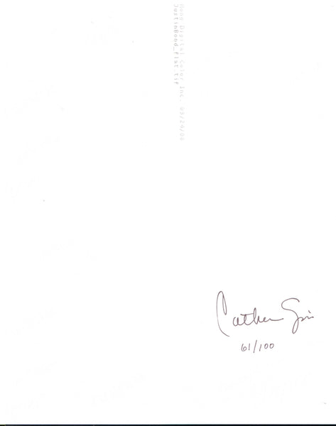 Catherine Opie-Justin Bond-Signature