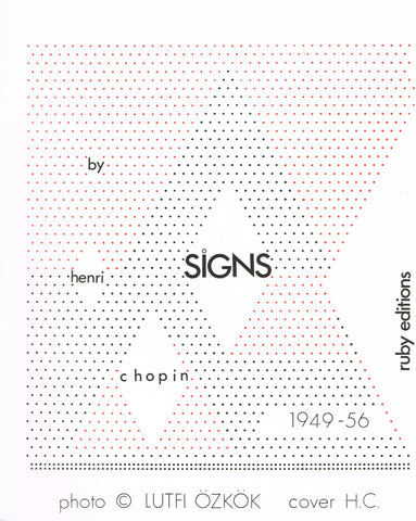 Cover image of Signs by Henri Chopin
