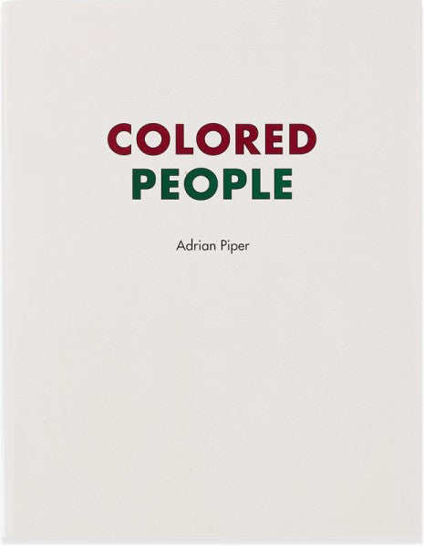 Colored People-Adrian Piper
