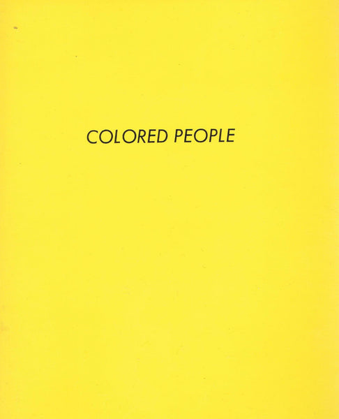 Front cover image-Ed Ruscha-Colored People