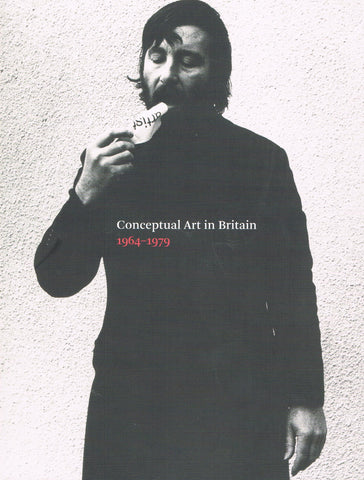 Cover image of Conceptual Art in Britain 1964-1979