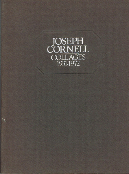 Cover photo of Joseph Cornell Collages 1931-1972