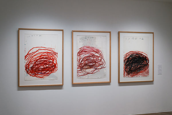 TWOMBLY, CY. 50 YEARS OF WORKS ON PAPER