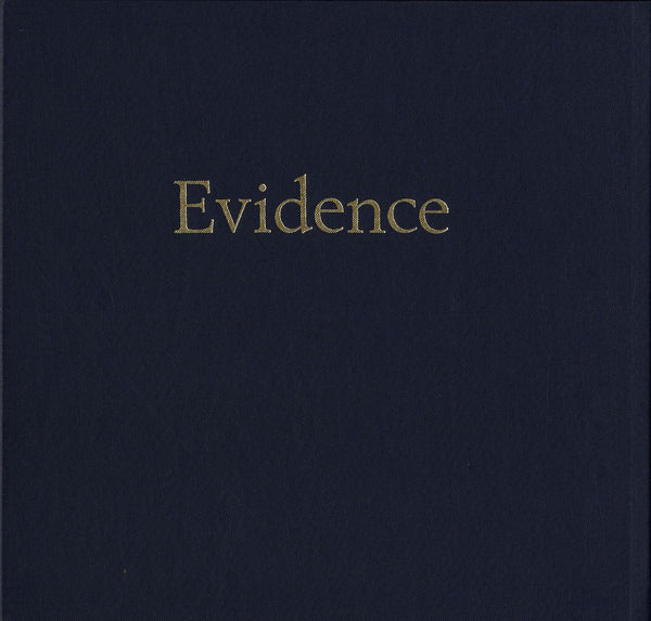 Cover of EVIDENCE by LARRY SULTAN