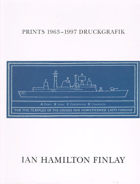 Cover image of Prints 1963-1997 Druckgrafik