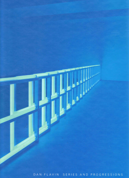Cover photo of Dan Flavin Series and Progressions