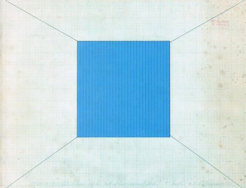 Cover image of Dan Flavin Drawings Diagrams and Prints 1972-1975