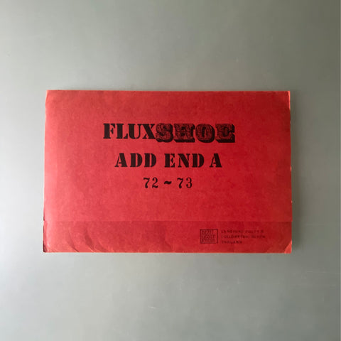 FLUXSHOE ADD END A 72-73