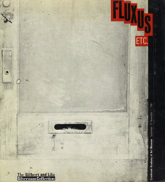 Cover of Fluxus Etc., The Gilbert and Lila Silverman Collection [rare]