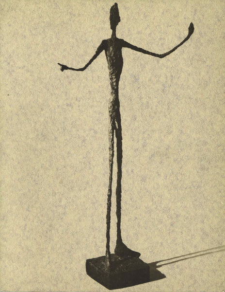 Cover of Thirteen Bronzes by Alberto Giacometti