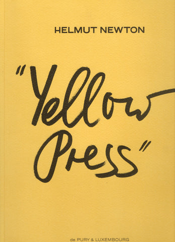 Front cover image-Helmut Newton-Yellow Press