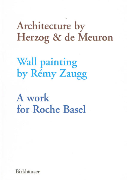 Cover image of Architecture by Herzog & de Meuron