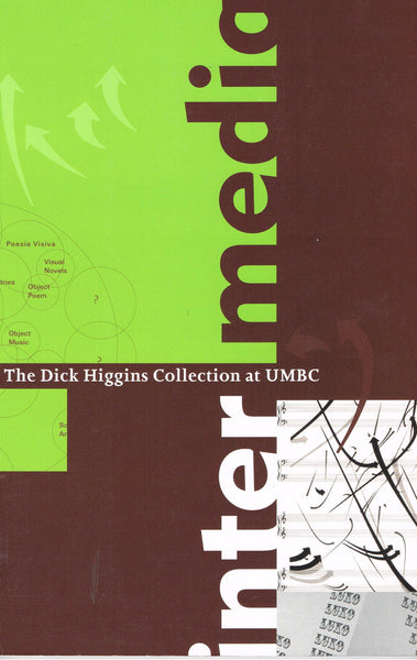 Cover image of Intermedia The Dick Higgins Collection at UMBC