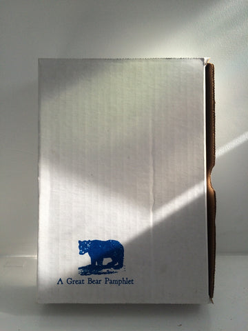 Front cover image of box-A Great Bear Pamphlet
