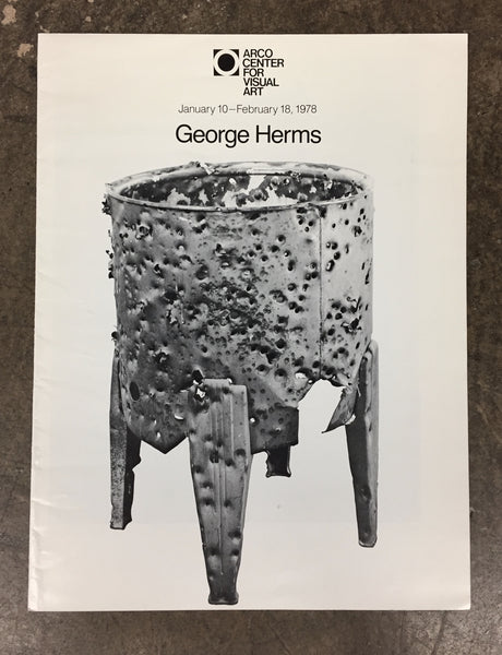 HERMS, GEORGE. ARCO CENTER FOR VISUAL ART [poster]