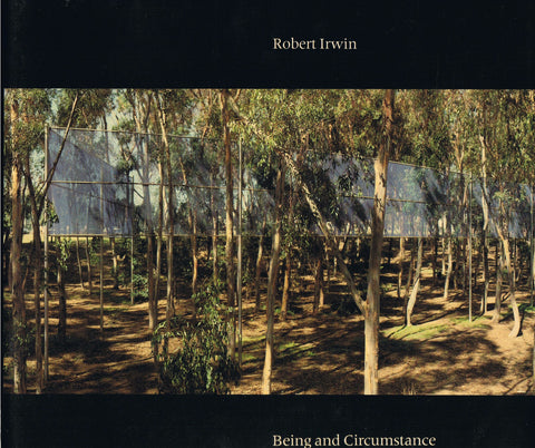 Cover image of Being and Circumstance by Robert Irwin