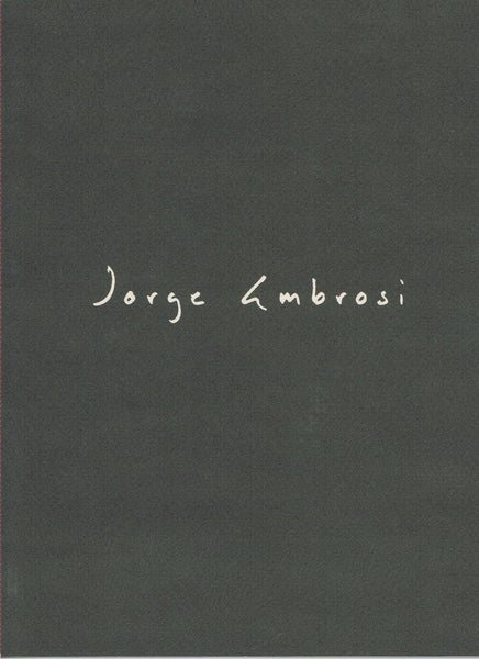 Cover image of Jorge Ambrosi