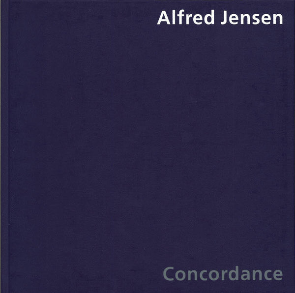 Cover of CONCORDANCE by ALFRED JENSEN