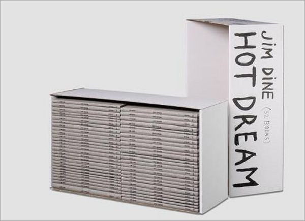 DINE, JIM. HOT DREAM (52 BOOKS)