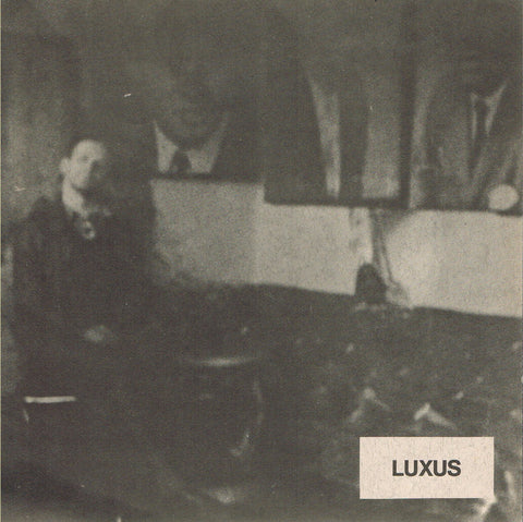 Cover of Martin Kippenberger's debut recording, Luxus
