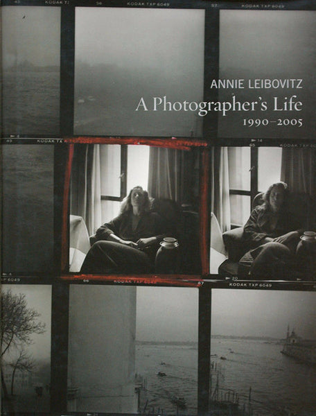 Cover image of A Photographer's Life by Annie Leibovitz
