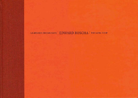 Cover of THE LONG VIEW/LA MIRADA DISTANCIADA by ED RUSCHA