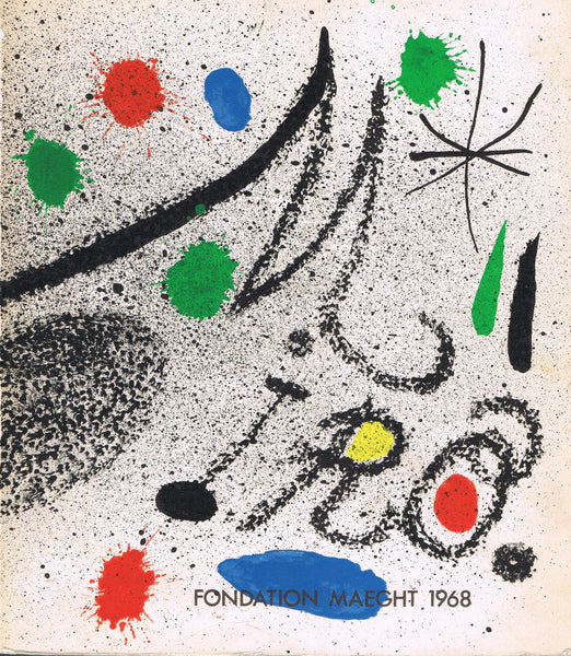 Cover image of Miro Fondation Maeght, 1968