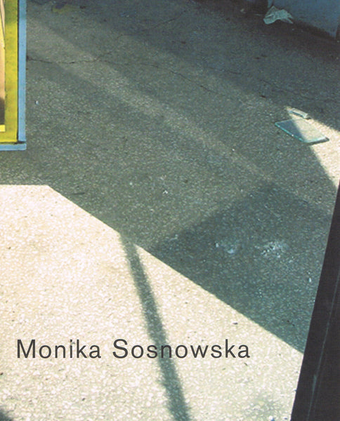 Cover image of Monika Sosnowska Photographs and Sketches