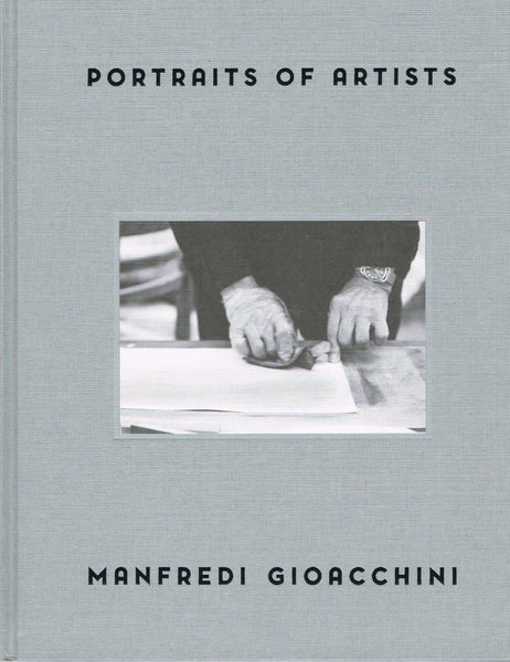 Cover image of Portraits of Artists by Manfredi