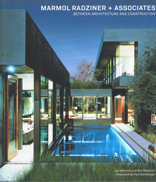 Cover image of Marmol Radziner + Associates Between Architecture and Construction