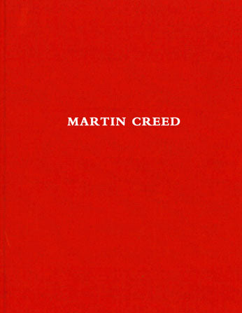 Front cover image-Martin Creed