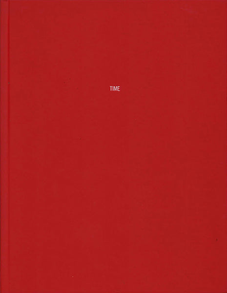 Cover of Font Study (TIME) by Mungo Thomson