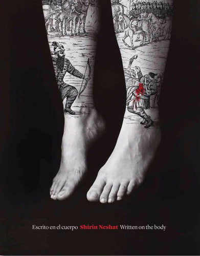 Cover photo of Shirin Neshat Written on the Body