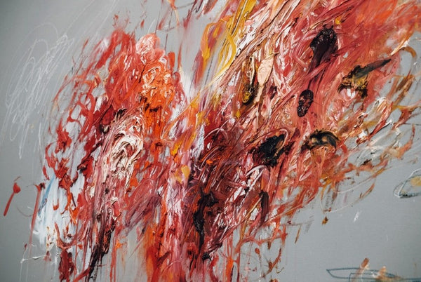 Cy Twombly-Detail-Pompidou-Retrospective Catalogue