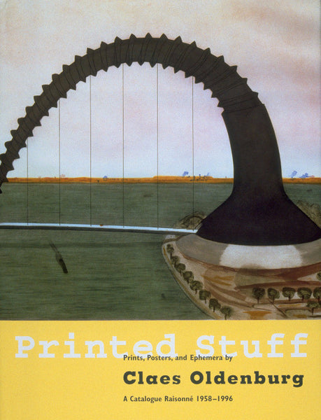 Cover image of Printed Stuff by Claes Oldenburg