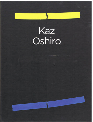 Cover of a new, signed monograph by Kaz Oshiro