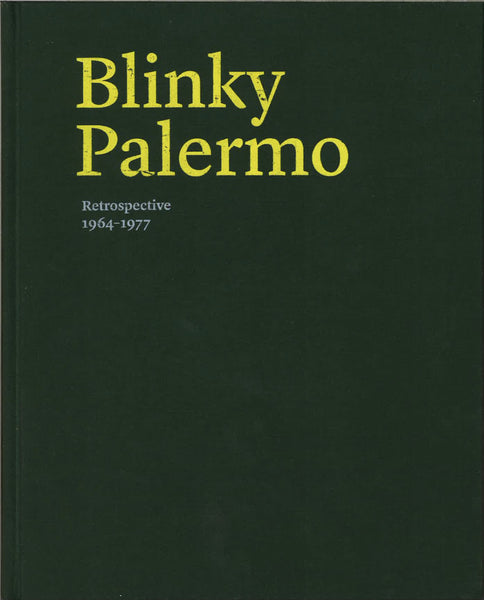 Cover of RETROSPECTIVE 1964-1977 by BLINKY PALERMO