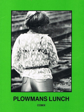 Cover of PLOWMANS LUNCH: COMIX by LAWRENCE WEINER